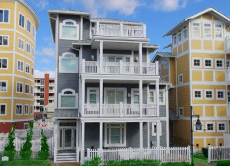 Coastal Colors Single Family Home Unit - 423 - Wildwood Crest Vacation Rentals